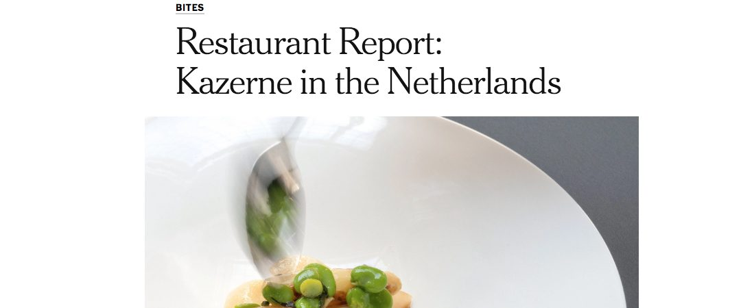 Restaurant Report by NYT