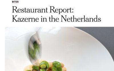 Restaurant Report door NYT