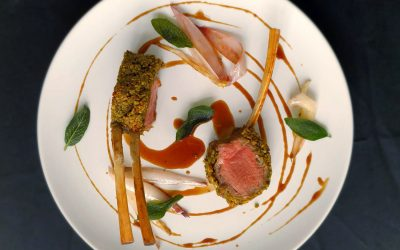 Pistachio-crusted Rack of Lamb
