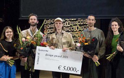 Teun Zwets wins Kazerne Design Award 2021